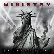 Ministry, AmeriKKKant [Black & Grey Swirl Vinyl] (LP)