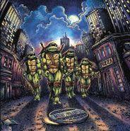 John Duprez, Teenage Mutant Ninja Turtles [OST] [Orange & Green Vinyl] (LP)