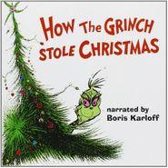 Boris Karloff, How The Grinch Stole Christmas (CD)