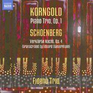 Erich Wolfgang Korngold, Korngold: Piano Trio, Op. 1; Schoenberg: Verklarte Nacht, Op. 4 (CD)