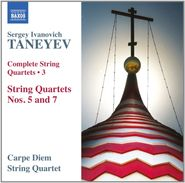 Sergey Ivanovich Taneyev, Taneyev: Complete String Quartets, Vol. 3 - Nos. 5 and 7 (CD)