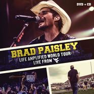 Brad Paisley, Life Amplified World Tour: Live From WVU (CD)
