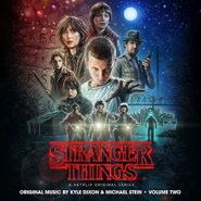 Kyle Dixon, Stranger Things Vol. 2 [OST] [Upside Down Blue Vinyl] (LP)