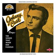 Johnny Cash, Sings The Songs That Made Him Famous [Yellow Vinyl] (LP)