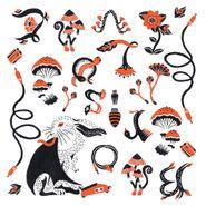 Boris, Love & Evol [Translucent Orange Vinyl] (LP)