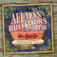 The Allman Brothers Band, American University, Washington, D.C. 12/13/70 (LP)