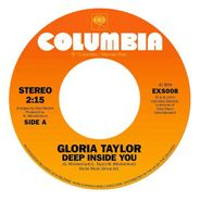 """Gloria Ann Taylor, Deep Inside Of You / World That's Not Real [Black Friday] (7"""")"""