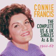 Connie Francis, The Complete US & UK Singles As & Bs 1955-62 (CD)