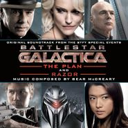 Bear McCreary, Battlestar Galactica: The Plan / Razor [Score] (CD)