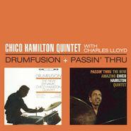 The Chico Hamilton Quintet, Drumfusion + Passin' Thru (CD)