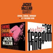 Jackie McLean, Swing, Swang, Swingin' / Let Freedom Ring (CD)