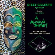 Dizzy Gillespie Quintet, A Musical Safari: Live At The 1961 Monterey Jazz Festival [180 Gram Vinyl] (LP)