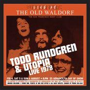 Todd Rundgren, Live At The Old Waldorf 1978 (LP)