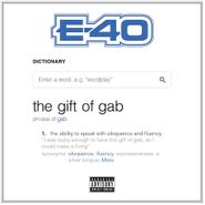 E-40, The Gift Of Gab (CD)