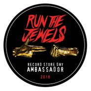 """Run The Jewels, Stay Gold Collectors Jewel Box [Record Store Day Clear Vinyl] (12"""")"""