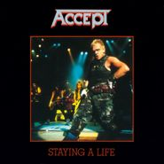 Accept, Staying A Life [180 Gram Smoke Colored Vinyl] (LP)