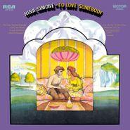Nina Simone, To Love Somebody [180 Gram Colored Vinyl] (LP)