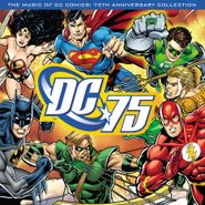 Various Artists, The Music Of DC Comics: 75th Anniversary Collection [180 Gram Blue Vinyl] (LP)