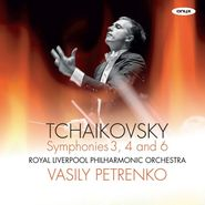 Peter Il'yich Tchaikovsky, Symphonies 3, 4 And 6 (CD)