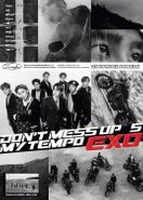 """Exo, EXO The 5th Album """"Don't Mess Up My Tempo"""" [Allegro Version] (CD)"""