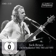 Jack Bruce, Live At Rockpalast 1980, 1983 & 1990 [Box Set] (CD)