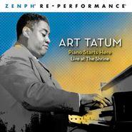 Art Tatum, Piano Starts Here: Live At the Shrine - Zenph Re-Performance (CD)