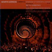 "Beth Gibbons, Górecki: Symphony No. 3, ""Symphony Of Sorrowful Songs""(CD)"