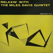 The Miles Davis Quintet, Relaxin' With The Miles Davis Quintet [Blue Vinyl] (LP)