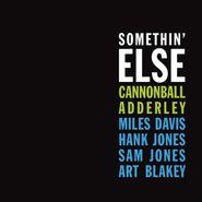 Cannonball Adderley, Somethin' Else [Blue Vinyl] (LP)