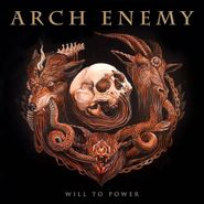 Arch Enemy, Will To Power [Gold/Black Marble Vinyl] (LP)