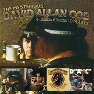 David Allan Coe, The Mysterious David Allan Coe: 4 Classic Albums 1974-1978 (CD)