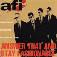AFI, Answer That And Stay Fashionable (CD)