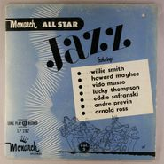 "Monarch Jazz All-Stars, Monarch All Star Jazz Vol. 2 (10"")"