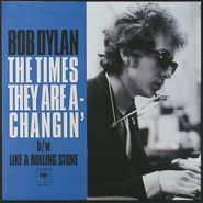 "Bob Dylan, The Times They Are A-Changin' [Red Vinyl] (7"")"