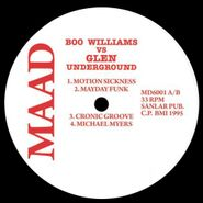 "Boo Williams, Boo Williams vs. Glen Underground [2 x 12""] (LP)"