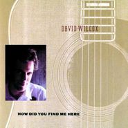 David Wilcox, How Did You Find Me Here (CD)