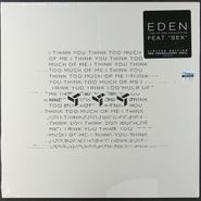 EDEN, I Think You Think Too Much Of Me [Red Translucent Vinyl] (LP)