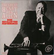 "Henry ""Red"" Allen, The Great Henry Red Allen: Rare Red Allen Trio Performances (LP)"
