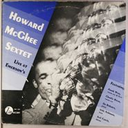 Howard McGhee Sextet, Live At Emerson's (LP)