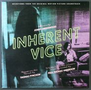 """Jonny Greenwood, Inherent Vice: Selections From The Original Motion Picture Soundtrack [UK Promo] (10"""")"""