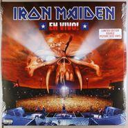 Iron Maiden, En Vivo! [Picture Disc] (LP)