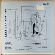 "Various Artists, Jazz Off The Air: Vol. 1 (10"")"
