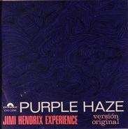 "The Jimi Hendrix Experience, Purple Haze EP [Mexican Pressing] (7"")"
