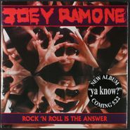 """Joey Ramone, Rock 'n Roll Is The Answer [RECORD STORE DAY] (7"""")"""