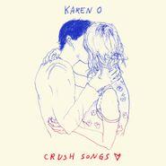 Karen O, Crush Songs [Blue Vinyl] (LP)