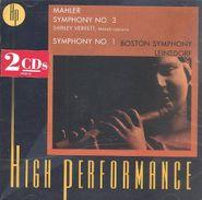 Gustav Mahler, Mahler: Symphony 3 & 1 (CD)