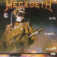 Megadeth, So Far, So Good...So What! [Remastered 180 Gram Vinyl] (LP)