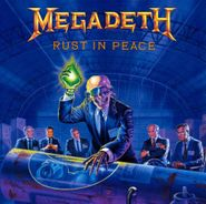 Megadeth, Rust In Peace [Remastered 180 Gram Vinyl] (LP)