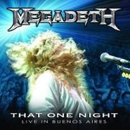 Megadeth, That One Night: Live In Buenos Aires (CD)