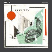 METZ, Strange Peace [Vinyl Me Please Clear with Red Swirl Vinyl] (LP)